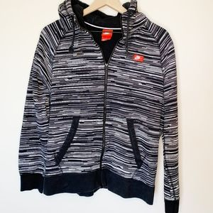 NIKE Speed Stripe Full Zip Women's Sweater